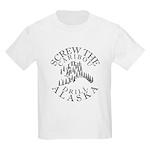 Screw Caribou (Drill Alaska) Kids T-Shirt