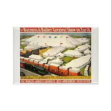 Barnum & Bailey (D) Rectangle Magnet (100 pack)