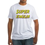 Super emilia Fitted T-Shirt
