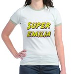 Super emilia Jr. Ringer T-Shirt