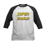 Super emilia Kids Baseball Jersey