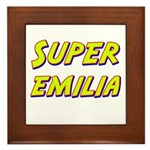 Super emilia Framed Tile