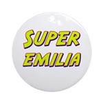 Super emilia Ornament (Round)