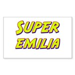 Super emilia Rectangle Sticker
