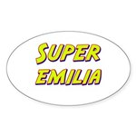 Super emilia Oval Sticker