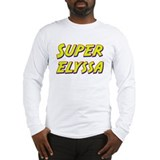 Super elyssa Long Sleeve T-Shirt