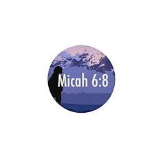 Micah 6:8 Mini Button (10 pack)