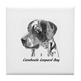 Cool Catahoula Tile Coaster