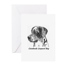 Unique Catahoula leopard dog Greeting Cards (Pk of 10)