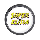 Super elissa Wall Clock
