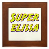 Super elissa Framed Tile