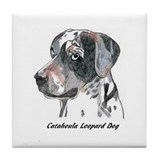 Funny Catahoula Tile Coaster