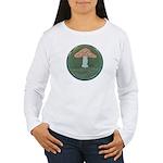 Mushroom Women's Long Sleeve T-Shirt
