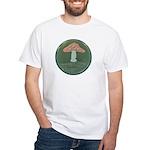 Mushroom White T-Shirt