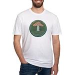 Mushroom Fitted T-Shirt