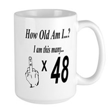 Cute 48 years old Mug