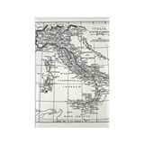 Augustus' Italy Map Rectangle Magnet