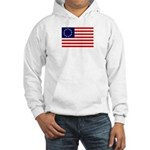 Betsy Ross Flag Hooded Sweatshirt