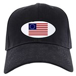 Black Betsy Ross Flag Hat
