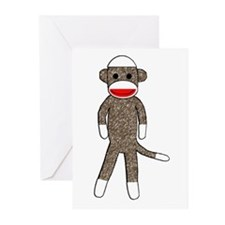 Cute Monkey Greeting Cards (Pk of 10)