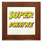 Super dwayne Framed Tile