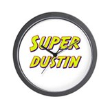 Super dustin Wall Clock