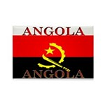 Angola Angolan Flag Rectangle Magnet (100 pack)