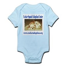 Cocker Spaniel Adoption Center Infant Creeper