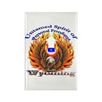 S.I. Untamed Spirit on Rectangle Magnet (100 pack)