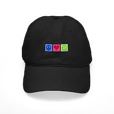 Peace Love VB Baseball Hat