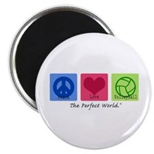 "Peace Love VB 2.25"" Magnet (100 pack)"