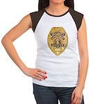 Security Enforcement Women's Cap Sleeve T-Shirt