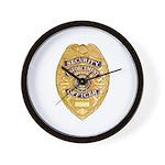 Security Enforcement Wall Clock