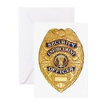 Security Enforcement Greeting Cards (Pk of 10)