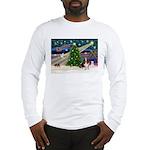 Xmas Magic - Basset Long Sleeve T-Shirt