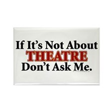 Theatre Rectangle Magnet (100 pack)