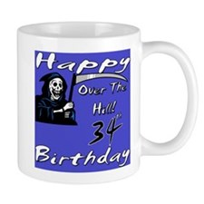 Cute 34th birthday party Mug