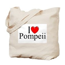 """I Love (Heart) Pompeii"" Tote Bag"