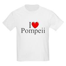 """""""I Love (Heart) Pompeii"""" T-Shirt"""