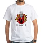 Tartini Family Crest White T-Shirt