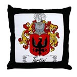 Tartini Family Crest Throw Pillow
