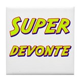 Super devonte Tile Coaster