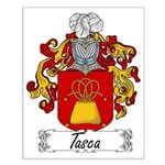 Tasca Family Crest Small Poster