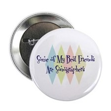 "Sonographers Friends 2.25"" Button (10 pack)"
