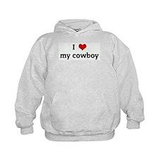I Love my cowboy Hoodie
