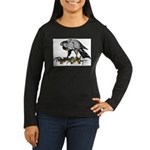 Goshawk Women's Long Sleeve Dark T-Shirt