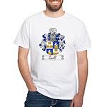 Tinelli Family Crest White T-Shirt