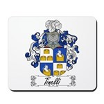 Tinelli Family Crest Mousepad