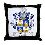 Tinelli Family Crest Throw Pillow