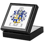 Tinelli Family Crest Keepsake Box